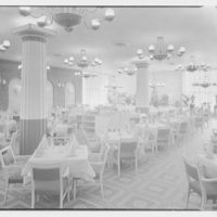 Continental Restaurant, Paramus, New Jersey. Dining room, general view I