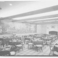 Continental Restaurant, Paramus, New Jersey. Plaza Club, to mural