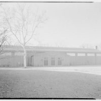 Deerfield Academy, Old Deerfield, Massachussetts. Hockey rink, exterior