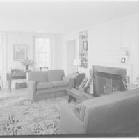 Deerfield Academy, Old Deerfield, Massachussetts. Master's living room