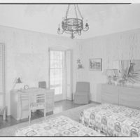 Dimitri Yassakovitch, residence in Hobe Sound, Florida. Guest room
