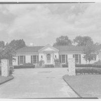 George F. Baker, Jr., residence, Center Island, Long Island. Exterior I