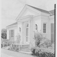 George F. Baker, Jr., residence, Center Island, Long Island. Exterior IV