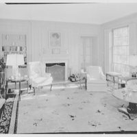John Quincy Adams, residence in Hobe Sound, Florida. Living room