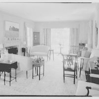 Marcus Beebe, residence in Hobe Sound, Florida. Living room