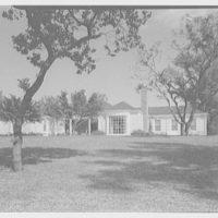 Marcus Beebe, residence in Hobe Sound, Florida. Rear facade I
