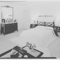 Mrs. James Kiernan, residence in Stuart, Florida. Master bedroom I