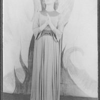 [Portrait of Felicia Montealegre, as Joan in Joan at the Stake (Honegger-Claudel)]