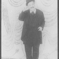 """[Portrait of Zero Mostel, as Leopold Bloom in """"Ulysses""""]"""