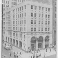 Seamen's Bank for Savings, 546 5th Ave., New York City. Exterior