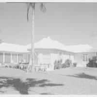 Albert D. Williams, residence in Naples, Florida. Bay facade I
