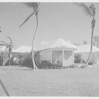 Albert D. Williams, residence in Naples, Florida. Bay facade II