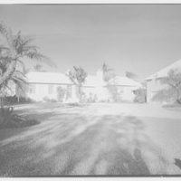 Albert D. Williams, residence in Naples, Florida. Entrance facade I