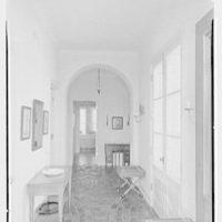 Albert D. Williams, residence in Naples, Florida. Entrance hall