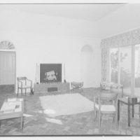 Albert D. Williams, residence in Naples, Florida. Living room