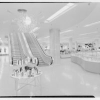 Bloomingdale's, business in Hackensack, New Jersey. Escalators