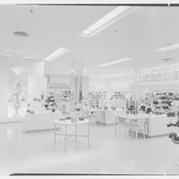 Bloomingdale's, business in Hackensack, New Jersey. Millinery, to gift shop