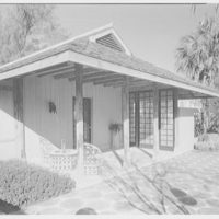 Byron L. Ramsing, residence at 232 Evergreen Ln., Palm Beach. Teahouse II