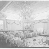 Celebrity Room, Playhouse, Palm Beach, Florida. Horizontal, dining room