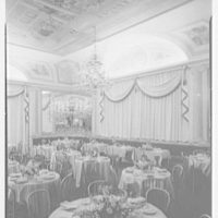 Celebrity Room, Playhouse, Palm Beach, Florida. Vertical, dining room