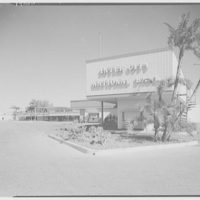 Cortez Plaza Shopping Center, Bradenton, Florida. General view from beach
