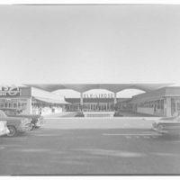 Cortez Plaza Shopping Center, Bradenton, Florida. Mid-mall