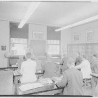 Deerfield Academy, Deerfield, Massachusetts. Mineralogy lab