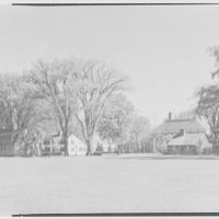 Deerfield Academy, Deerfield, Massachusetts. To dining hall from scoreboard