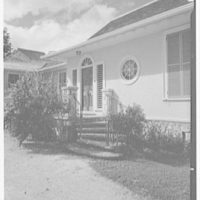 Dr. & Mrs. Matthew Mellon, residence at Runaway Bay, Jamaica, British West Indies. Entrance II