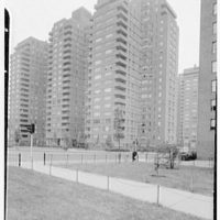 East River Housing Corp., Grand St. and E. River Dr. General view from north