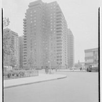 East River Housing Corp., Grand St. and E. River Dr. General view from south
