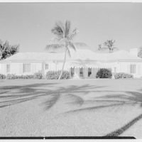 Edward B. McLean, residence at 345 North County Rd., Palm Beach. Ocean facade