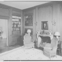 Frederick R. King, residence in Woodbury, Long Island, New York. Library