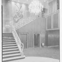 Loew's State Theater, Broadway and 45th St., New York City. Staircase