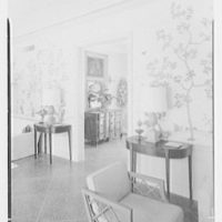 Marcus Beebe, residence in Hobe Sound, Florida. Hall