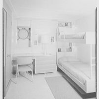 Officers' quarters mock-up. Second seaman