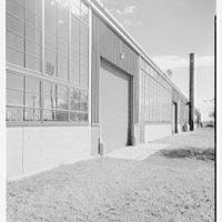 Ordnance building, Camp Kilmer, New Jersey. Exterior detail of facade