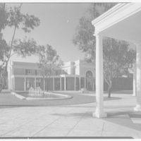 Ponciana Plaza and Coconut Row, Palm Beach, Florida. Fountains east