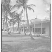 Ponciana Plaza and Coconut Row, Palm Beach, Florida. From center to west