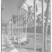 Ponciana Plaza and Coconut Row, Palm Beach, Florida. Gazebo detail