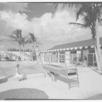 Port Royal Beach Club. Pool to diving board