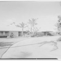 Port Royal houses, Naples, Florida. A.R. Stehli residence, east facade from left