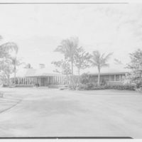 Port Royal houses, Naples, Florida. A.R. Stehli residence, east facade from right