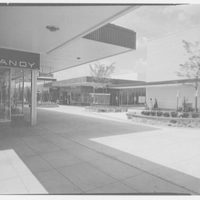 Prince George Plaza, Hyattsville, Maryland. View across mall
