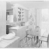 Roy E. Larsen, residence at 5060 Congress St., Fairfield, Connecticut. Kitchen I