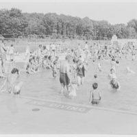 Saxon Woods Bathing Pool, White Plains, New York. Children's area I