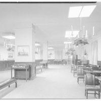 Seamen's Bank for Savings, 11 Beaver St., New York. Interior toward entrance