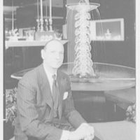 Steuben Glass, business at 5th Ave. and 56th St., New York. Mr. Gates
