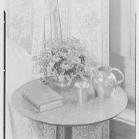 Williamsburg, Virginia, Wythe house. Northeast bedroom arrangement