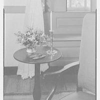 Williamsburg, Virginia, Wythe house. Southwest bedroom arrangement